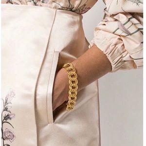 Givenchy | Vintage 80's Double Curb Bracelet